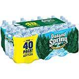 Poland Spring 100% Natural Spring Water (16.9 oz. bottles, 40 pk.)