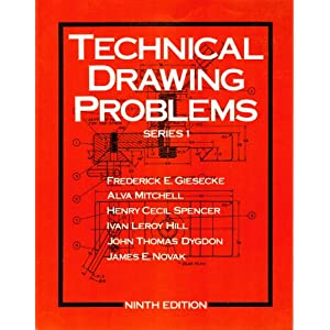 Technical Drawing Problems (Series 1)
