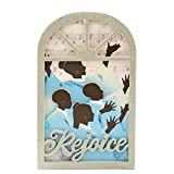 Hallmark African-American Choir Silhouette Church Window Ornament from Mahogany Line