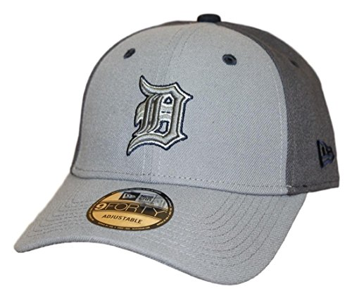 New Era Detroit Tigers MLB 9Forty The League Pop Adjustable Hat - Gray