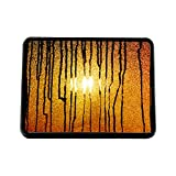 Style in Print Abstract Orange Pattern Truck Hitch Cover Receiver