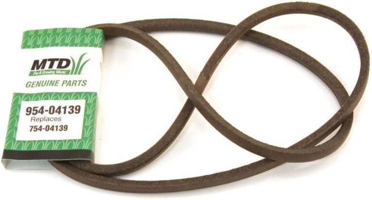 Mtd 954-04139 Lawn & Garden Equipment Belt, 1/2 x 72-1/2-in Genuine Original Equipment Manufacturer (OEM) Part