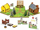 STORYTIME TOYS The Three Little Pigs Storybook and Play Set