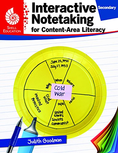 (Shell Education Interactive Notetaking for Content-Area Literacy, Grades 6-8)