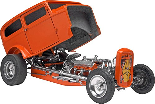 118 Scale Diecast Model - Revell Orange Crate '32 Ford Sedan Plastic Model Kit