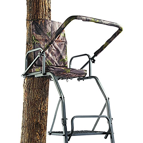 Guide Gear Deluxe 16' Ladder Tree Stand (Best Tree Stand For Rifle Hunting)