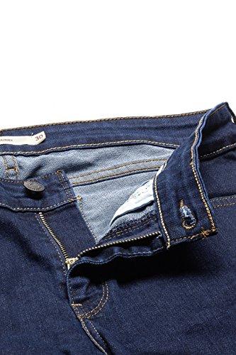 jeans 711 Blu Scuro Skinny Levi's qEPww6Y