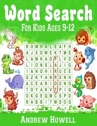(Word Search For Kids ages 9-12: Improve Spelling, Vocabulary, and Memory For Kids! (Volume 1))