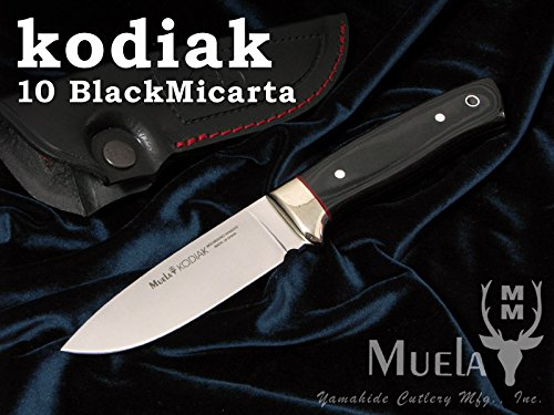 Muela(ムエラ) KODIAK-10M コディアック 100mm マイカルタハンドル シースナイフ 【日本正規品】 B07428YT6L