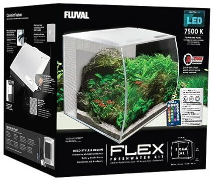 Fluval 15004 Flex Nano-Aquarium Set Fluval Flex Aquarium Set 57 L 15007