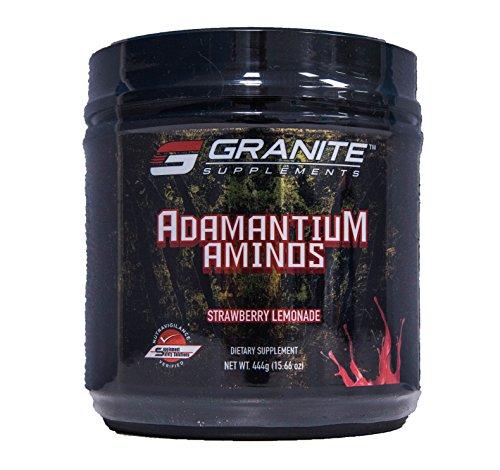 Granite Supplements Adamantium Aminos Strawberry Lemonade 444g