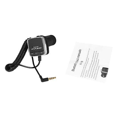 BT678 Coche FM estéreo Bluetooth Audio inalámbrico Transmisión Doble Pantalla LED Música MP3 Telégrafo Puerto USB