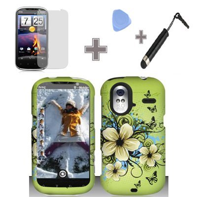 (4 Items Combo : Case - Screen Protector Film - Case Open...
