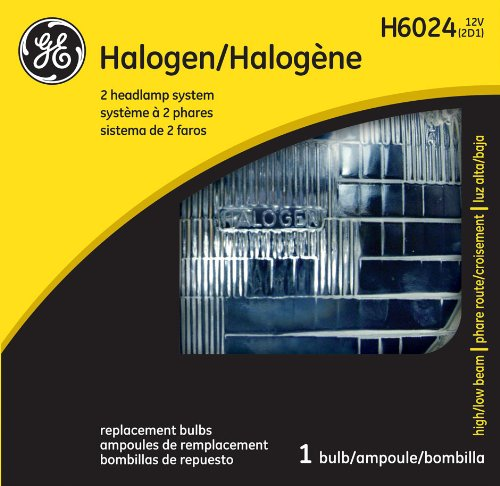- GE Lighting H6024 Standard Automotive Replacement Bulb