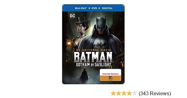 Amazon.com: Batman:Gotham By Gaslight Exclusive Steelbook ...