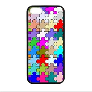 Generic Autism Awareness Puzzle Pieces Snap-On Durable Cover Case for iPhone 6 (4.7 Inch Screen)