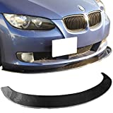 06-11 BMW E92 E90 3 Series Coupe Sedan Carbon Fiber CF Front Bumper Lip