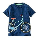 Toddler Kids Baby Boys Girls Clothes Cartoon Short Sleeve T-Shirt Tops