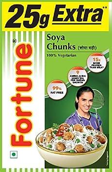 Fortune SOYA Chunks, 200g (Extra 25g)