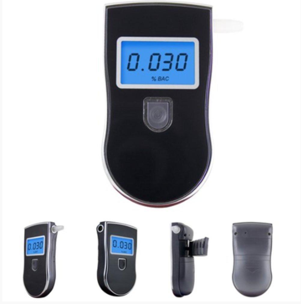 R SODIAL Testeur numerique dalcoolemie Analyseur Breathalyser avec ecran LCD Porte-cles
