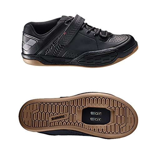 2015 Shimano Mens AM5 SPD Trail / Leisure Shoes Black UK 3.5 / US 4.5 / EU 37