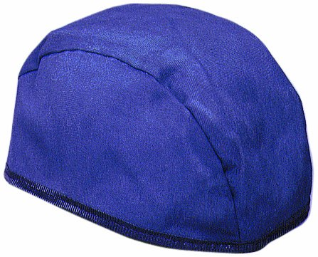 (Mutual 57500 Flame Resistant Navy Twill Welding Beenie, Large)