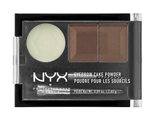 NYX Eyebrow Cake Powder, Auburn/Red, 0.09 oz