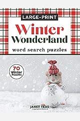 Winter Wonderland Large-Print Word Search Puzzles: 70 Winter Puzzles in Large Print (Search the Seasons Series) Paperback