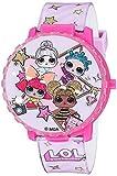L.O.L. Surprise! Girls' Quartz Watch with Plastic