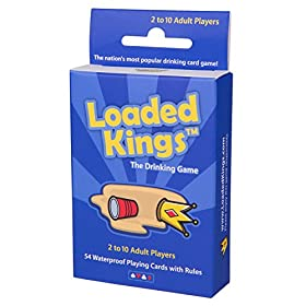 Loaded Kings – The Drinking Card Game (Water...