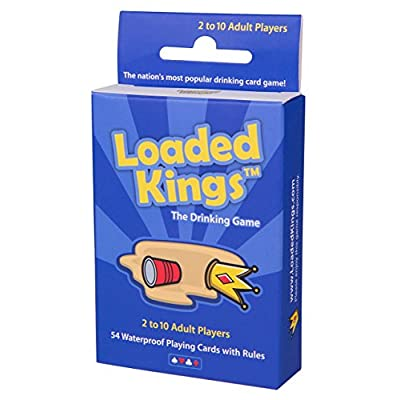 Loaded Kings – The Drinking Card Game (Waterproof Playing Cards)