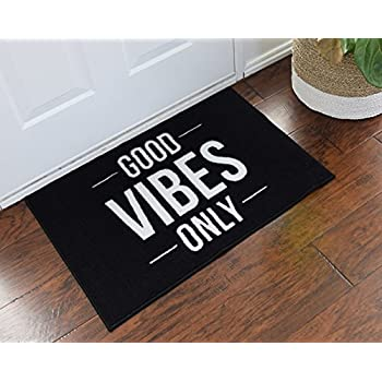 Merveilleux Good Vibes Only Welcome Door Mat