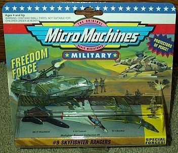 Skyfighter Rangers Micro Machines #9 Military Collection