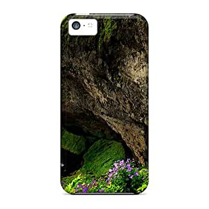 Eriklcoeman Premium Protective Hard Case For Iphone 5c- Nice Design - Gorgeous Waterfalls Over A Cliff