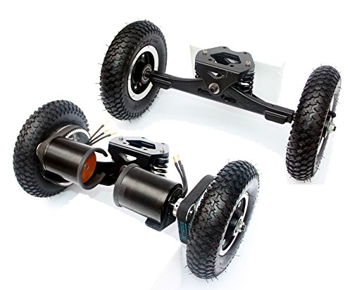 Electric Skateboard Truck Off Road Skateboard Belt Drive Truck 4 Wheel Longboard Mountains Skateboard 11 Inch Truck 8 Inch Wheel (normal with drive truck)