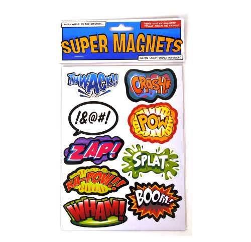Paladone Superhero Supermagnets Fridge Magnet Set