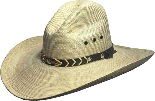 BULL-SKULL HATS Palm Leaf Cowboy Hat, Gus 506