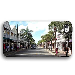 Key West Duval Street Florida For Iphone 5/5S Case Cover Armor Phone Case