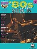 80S Rock Drum Play-Along Volume 8 Bk/CD