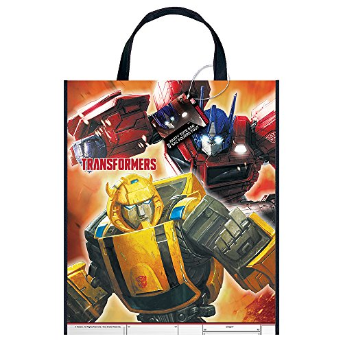 Large Plastic Transformers Goodie Bag, 13