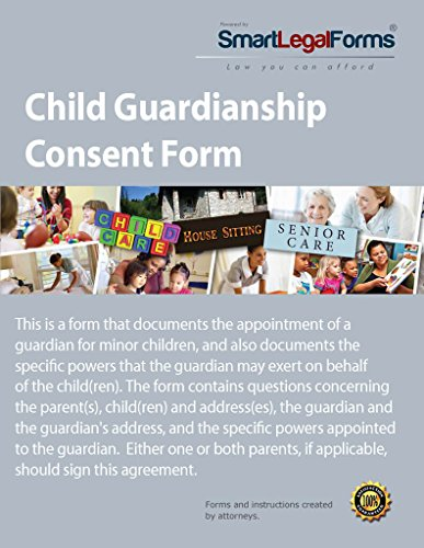 Child Guardianship Consent Form [Instant Access]