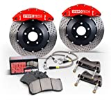 StopTech 83.836.4300.21 StopTech Big Brake Kit Blue/Slotted Front Incl. ST-40 Caliper 328x28mm Rotors Does Not Fit Stock Wheels StopTech Big Brake Kit