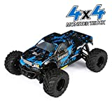 HAIBOXING RC Cars 1/18 Scale 4WD Off-Road Monster Trucks with 36+KM/H High Speed, 2.4 GHz...