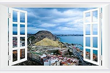 SHOBRILF Dark Clouds Over The Alicante Coast - World - #49232 - Art Print 3D