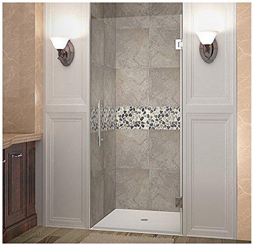 Aston Cascadia Completely Frameless Hinged Shower Door, 33