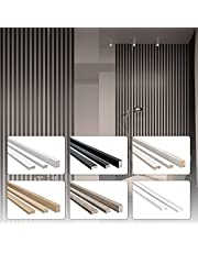 1,35 meter lamellen MDF hout lamellenwand kamerverdeler Top Design wandbekleding - Stella collectie