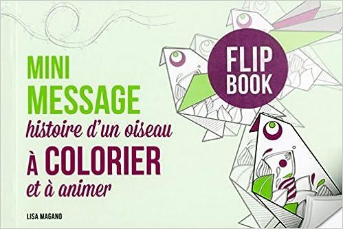 En ligne téléchargement gratuit Mini message - histoire d'un oiseau à colorier et à animer pdf, epub