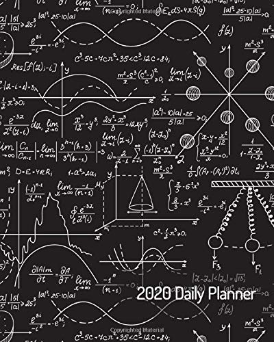 Schedule C 2020.2020 Daily Planner Stem Math Physics Engineering Science