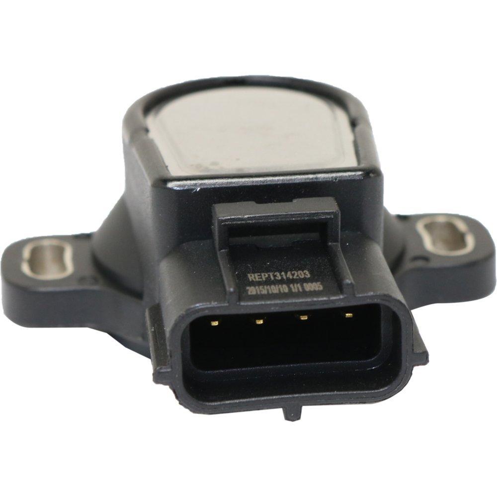 evan-fischer eva1589071512 Sensor de posición del acelerador para 93 - 98 Toyota Supra Turbo hembra conector tipo de cuchilla 4-Prong macho Terminal: ...