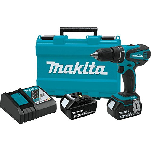 Makita XPH01 18V Lithium-Ion Cordless 1/2-Inch Hammer Driver-Drill Kit Review